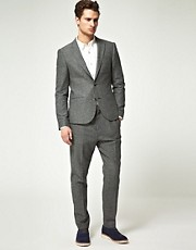 ASOS Slim Herringbone Suit