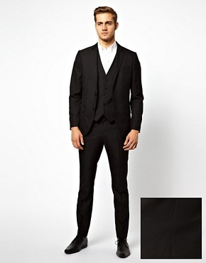 Image 1 ofRiver Island John Slim Suit