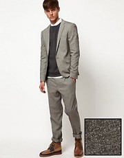 ASOS - Abito slim in tweed