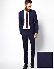 ASOS Skinny Suit in Blue