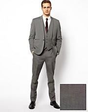 ASOS Slim Fit Suit in Gray