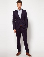 ASOS Skinny Fit SB2 Suit in Navy