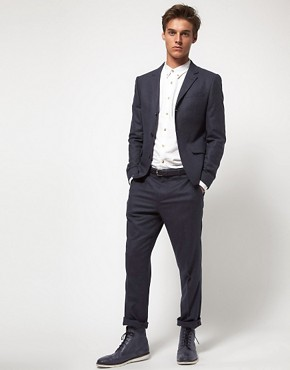 Image 1 ofASOS Slim Fit Suit In Italian Fabric 
