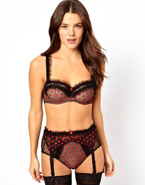 Image 1 ofVon Follies By Dita Von Teese Embroidered Spot Set