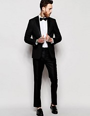 ASOS Tuxedo Suit in Slim Fit 