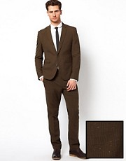 ASOS Slim Fit Suit in Pow Check