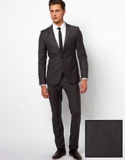Selected Suit with Two Buttons in Skinny Fit