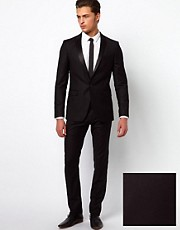 Selected Two Button Skinny Fit Suit