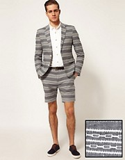 ASOS Blazer and Shorts in Stripe