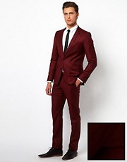 Selected Skinny Fit Suit with Two Buttons