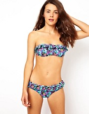 Playful Promises Exotic Parrot Print Bikini
