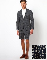 ASOS Slim Fit Suit in Ditsy Floral