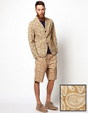 Universal Works Paisley Print Short Suit