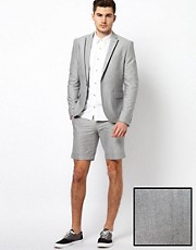 Selected Short Suit with Trim Detail
