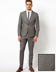 ASOS Slim Fit Suit in Birdseye