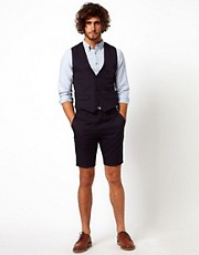 Vito Pinstripe Short Suit