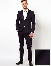 ASOS - Abito slim fit con bordini