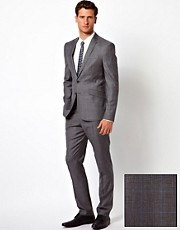 ASOS Slim Fit Suit in 100% Wool Check