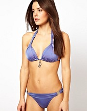 Baku Grecian Slide Bikini with Coin Trim