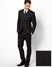 ASOS Skinny Fit Suit in Pinstripe