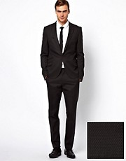 Caxton Skinny Fit Mini Check Suit