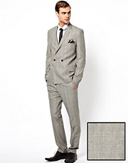 Caxton Skinny Fit Textured Suit