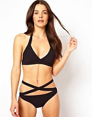 Mouille Maya Black Wrap Bikini