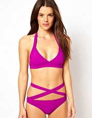 Mouille Maya Magenta Wrap Bikini