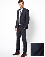 Caxton - Abito skinny fit in pied de poule