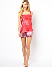 Vero Moda  Sagitta  Set mit Camisole und Shorts