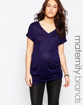 New Look Maternity V Neck Tunic