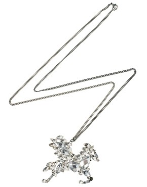 Image 2 ofRiver Island Pegasus Pendant Necklace