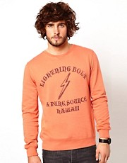 Lightning Bolt City Crewneck