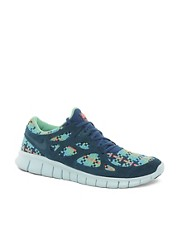 Nike - Free Run 2 - Scarpe da ginnastica intrecciate