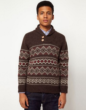 Image 1 ofHilfiger Denim Fairisle Jumper