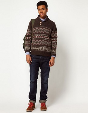 Image 4 ofHilfiger Denim Fairisle Jumper
