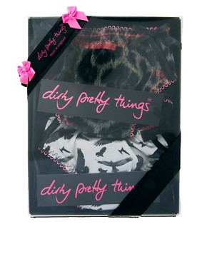 Image 3 of Dirty Pretty Things Knicker Gift Set