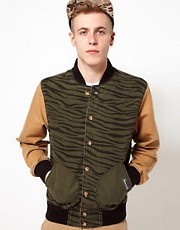 Trainerspotter Jacket Bomber Tiger Camo