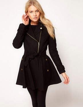 Image 1 ofASOS Skater Coat
