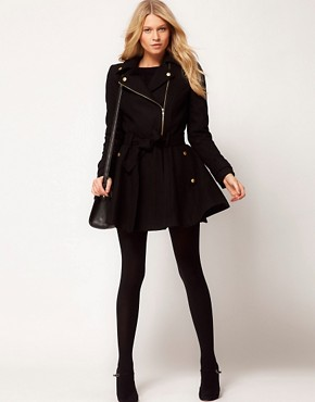 Image 4 ofASOS Skater Coat