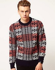 Lyle &amp; Scott Vintage Cable Knit Hooped Jumper