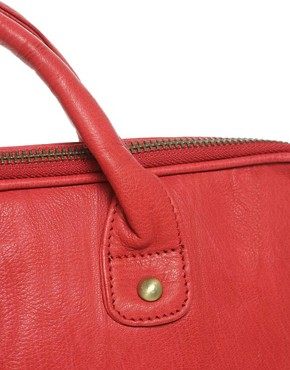 Image 4 ofASOS Leather Bright Laptop Case