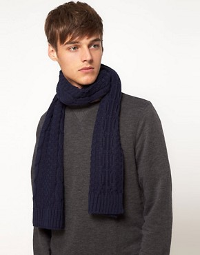 Image 2 ofASOS Cable Knit Scarf