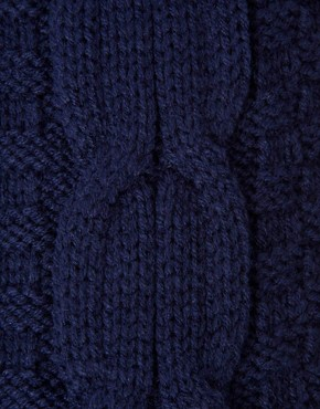 Image 3 ofASOS Cable Knit Scarf