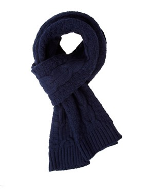 Image 1 ofASOS Cable Knit Scarf