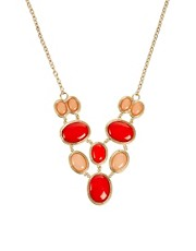 Kenneth Jay Lane Double Row Statement Necklace