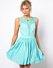Oasis Lace Panel Dress