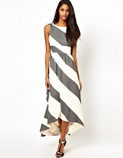ASOS Maxi Dress In Stripe