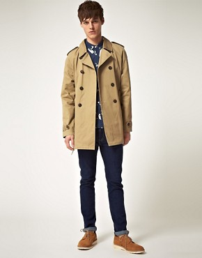 Bild 4 von ASOS  Twill-Trenchcoat