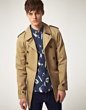 Bild 1 von ASOS  Twill-Trenchcoat